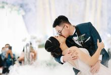 The Wedding Of Edwin & Raissa by delazta wedding coordinator