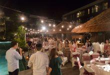Wedding Dinner of Tommy & Melissa by Le Grande Bali Uluwatu