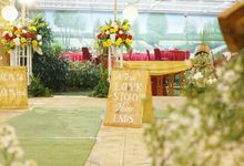 The Wedding of Mutiara & Tinus by Kamandanu Decor