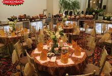 WEDDING OF MELLITA & DANI by Sonokembang Catering