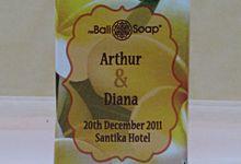 Souvenir Sabun 100 gram by Bali Soap