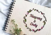 Mayang & Endy Customize Guest Book by Urimemento Indonesia