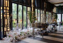 Satoo At Shangri- La Hotel, 1 Mar '20 by Pisilia Wedding Decoration