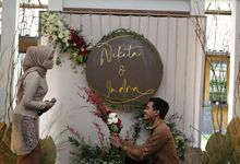 Nikita & Indra's Engagement by Kreasae