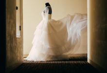 Wedding of Gustav & Siska by Elina Wang Bridal
