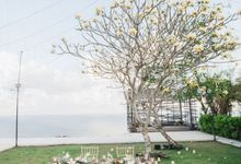 Romantic-Modern Wedding at Alila Uluwatu by Silverdust Decoration