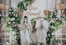 The Wedding of Desi & Ahmad by Decor Everywhere