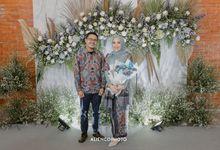 Decoration Engagement Sekar & Fahmi by Thebridewears