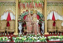 Palembang Brides Nuning & Rizky by FAIRYTALE WEDDING PROJECT PADANG