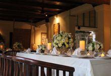 Oleen & Brian Wedding Reception at KORI Restaurant & Bar by KORI Catering