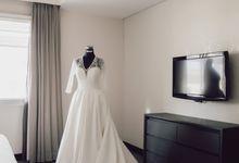 Hendra & Stephanie's Wedding by Cloche Atelier
