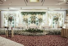 Decoration Wedding James & Jessica by Mercure Jakarta Kota