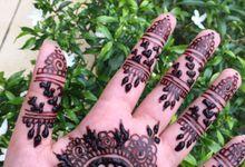 my portfolio by henna by sumaya