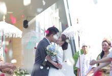 Wedding Ceremony Decoration At Samabe by Bali Becik Wedding