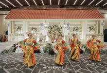 The Reception of Azi & Winni by  Menara Mandiri by IKK Wedding (ex. Plaza Bapindo)
