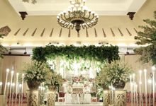 putri & arif dekorasi wedding by Our Wedding & Event Organizer