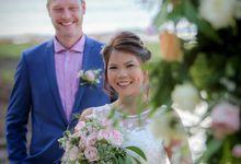 Kevin & Sony Renewal Wedding by Le Grande Bali Uluwatu