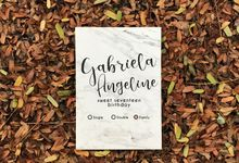 GABRIELA ANGELINE 17th BIRTHDAY by Invitation by Pipin
