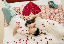 Pre Wedding at Villa Seriska Jimbaran Bali by All that Bali Wedding