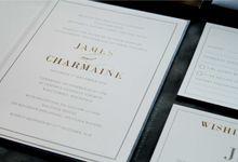 James & Charmaine by Vinas Invitation