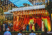 The Wedding of Jared & Gagan (Mehndi Ceremony) by Bali Yes Florist