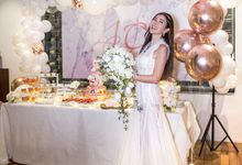 Rose Gold Party Jamie Chua by aBite