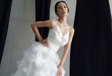 A line Wedding Dress by Vica Wang