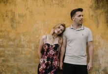 Pre wedding Kayla and peter in Hoi An Vietnam by Ruxat Photography