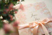 James & Inez - souvenir by Vinas Invitation
