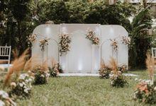 Intimate Garden Wedding of Izza and Pandima by Kalea Design