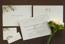 Dito & Jesica by Vinas Invitation