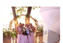 Elisa & Tomasso Wedding Party by Dreamcatcher Photobooth Bali