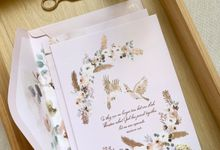 Love Birds by Trouvaille Invitation