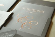 Eric & Evelyn by Vinas Invitation