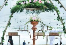 Outdoor wedding Bianda and Dhika by DASA Catering