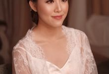 THE WEDDING OF CLAUDIA & MICHAEL by Sheila Kho Makeup