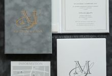 Matthew & Susan by Vinas Invitation