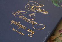 Erico & Candra by Vinas Invitation