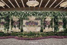 The Wedding of  Brinna & Hajar by Menara Mandiri (Ex. Plaza Bapindo) by IKK Wedding