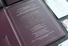 Catherine & Aron by Vinas Invitation