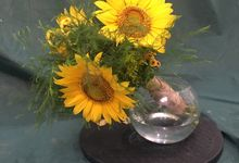 Sunflower Hand Tied by Beyond by Brigita