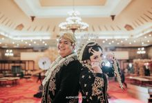 PURI ARDHYA GARINI WEDDING OF AJI & DEVI by alienco photography
