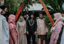 intimate wedding DEA & IMAM by narayastory