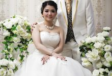 Prewedding Diana-Zainal at Ecopark & Alissha by Alissha Bride