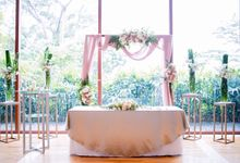 Shilton & Priscilla - Romantic Rose Garden by Lily & Co.
