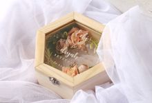 Hexagonal Ring Box For Ms. Diyah by Roopa