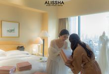 Wedding Naomi-Aron at JW Marriott by Alissha Bride