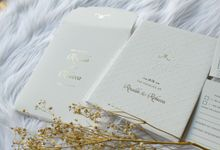 Rinaldo & Rebecca by Vinas Invitation