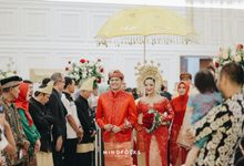 The Wedding of Intan & Berlian by Menara Mandiri (Ex. Plaza Bapindo) by IKK Wedding