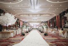 Decorated Wedding Hall Skenoo by Skenoo Hall Emporium Pluit by IKK Wedding
